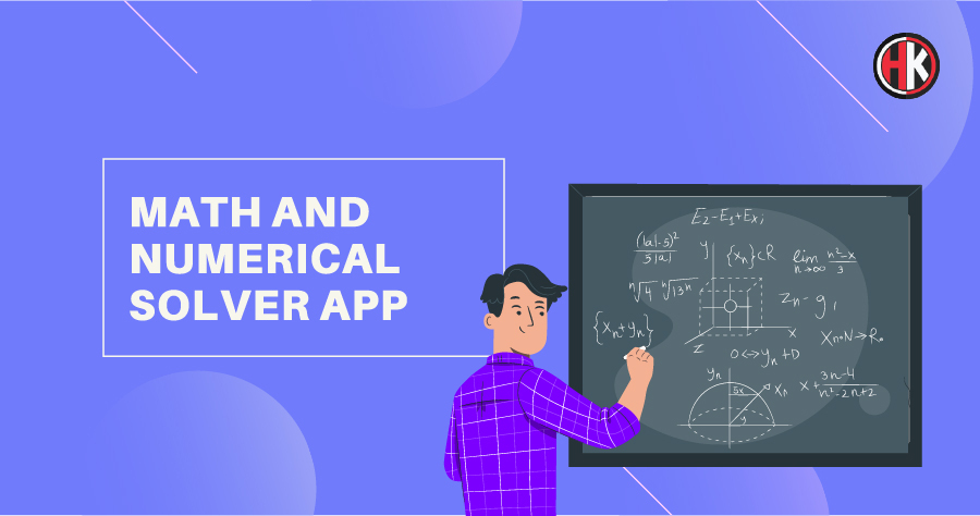 Math and numerical solver app