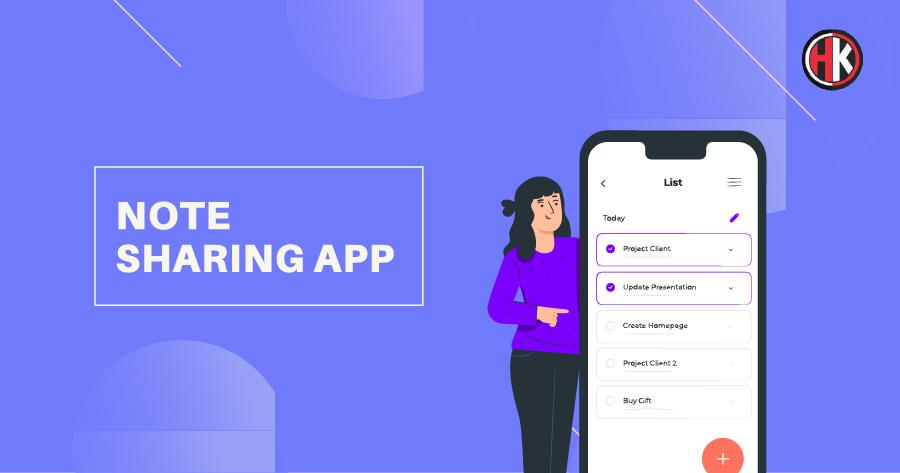 Note Sharing app