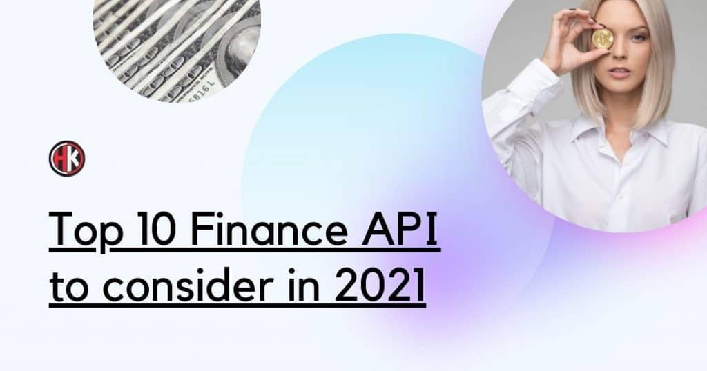 Top Finance Api 2021