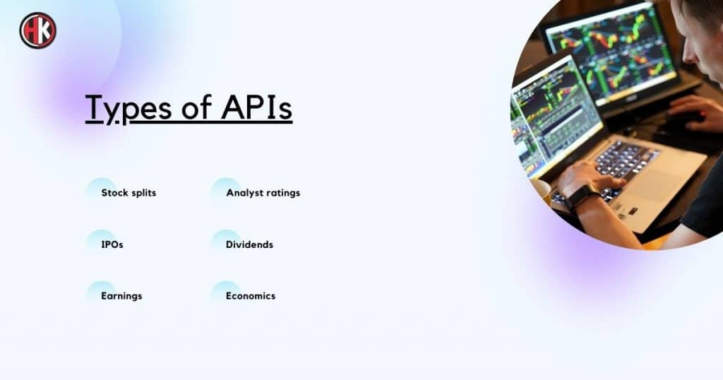 Types Of Finance Api