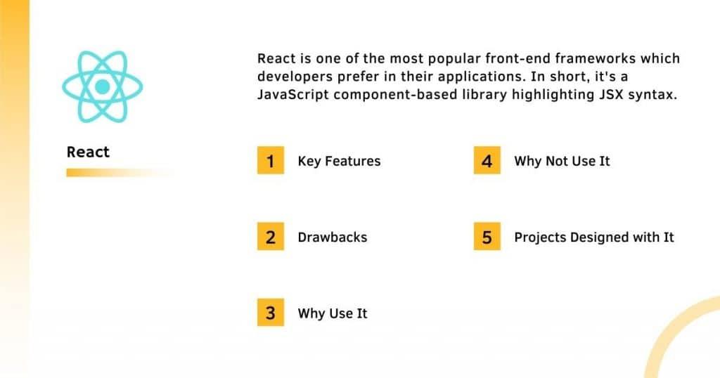 Fontend framework React