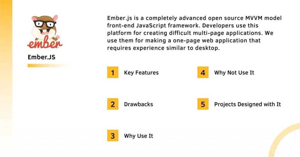 Ember.Js Frontend Framework With it's Complete Information