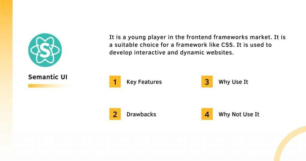 Semantic UI Frontend Framework With it's Complete Information