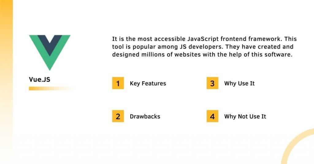 Vue. Js Frontend Framework With it's Complete Information