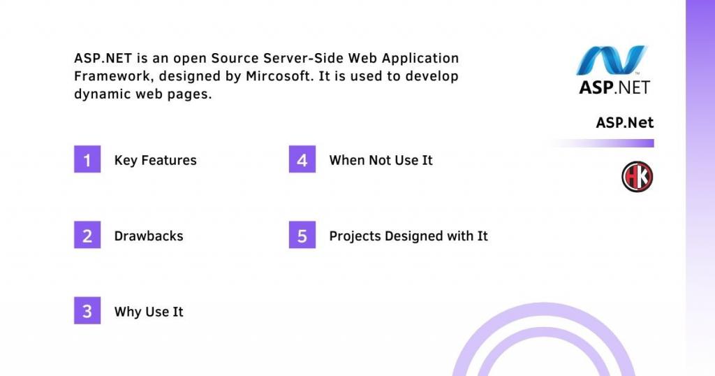 asp.net Backend framework